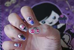 Dark candy photo by Rubia Olivo ~ Nail Art