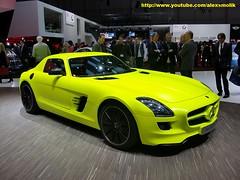 Mercedes SLS AMG E-cell