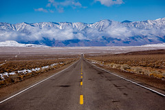 Leaving Death Valley California photo by Bridgeport Mike