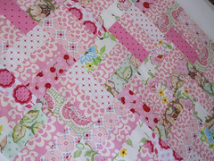 Patchwork quilt tutorial photo by flossieteacakes