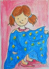 "Little Girl ""dressing up"" [ Traded] photo by Aeneadellaluna"