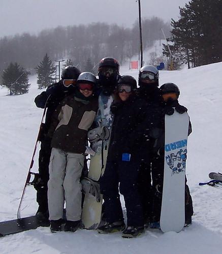 snowboarding boys