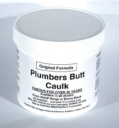 plumbers butt caulk