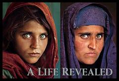 Sharbat Gula, photographs by Steve McCurry, National Geographic Magazine