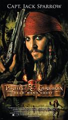 """Nuevos carteles de """"Piratas del Caribe: El Cofre del Muerto"""""""