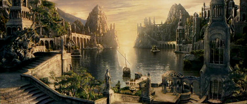 Grey Havens ... where ships sail to Valinor... the sea ... the sea... it calls
