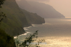Na Pali coast vista da trilha