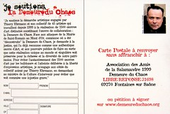 Carte Postale P�tition - Postcard Petition
