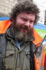 Londres P street worker