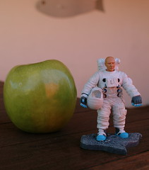 Buzz Aldrin and the Giant Green Apple