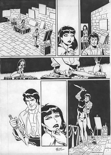 Tinta (Vampirella Especial, Bruce Timm)