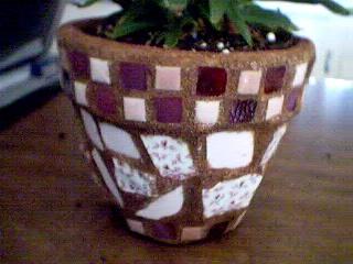 pink flowerpot C