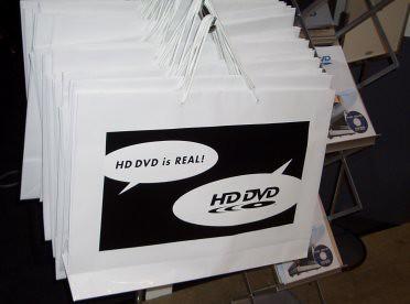 HD DVD bags