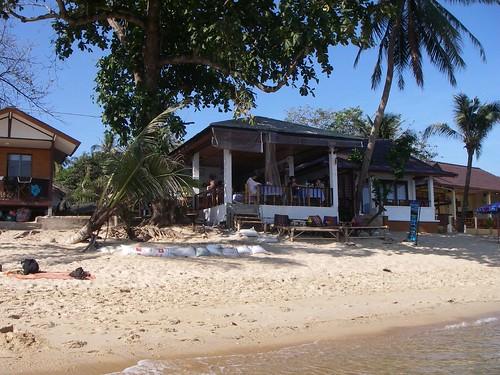 Ubon villa bungalows på stranden Mae Nam, Ko Samui