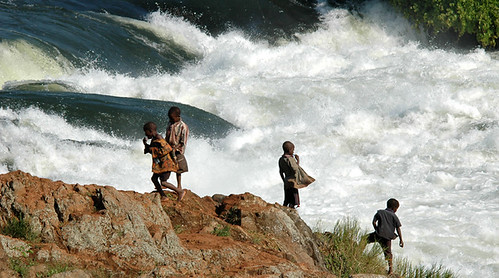 Jinja---the source of Nile-