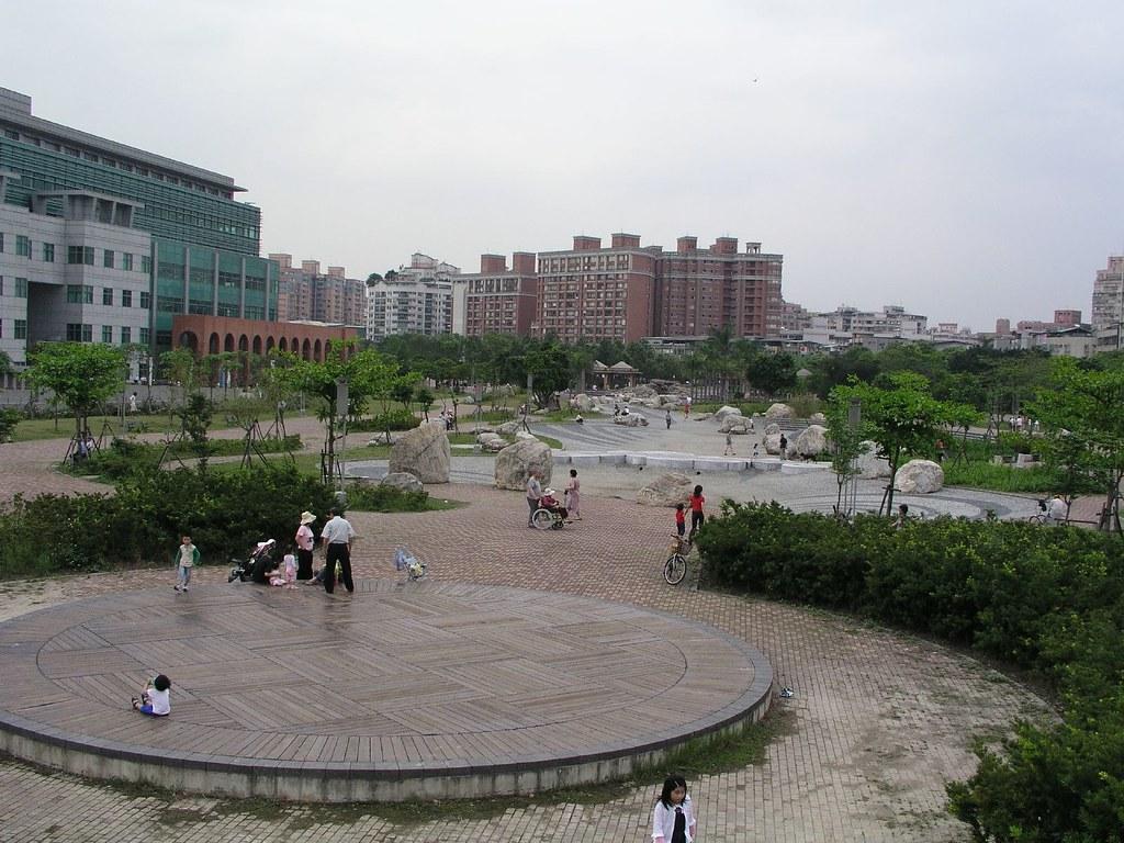 中和四號公園—從鳥瞰的角度看四號公園