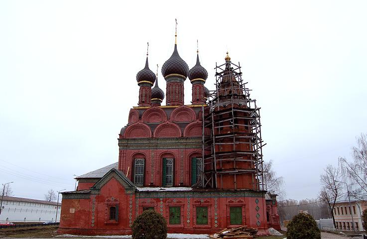 Богоявленский собор в Ярославле