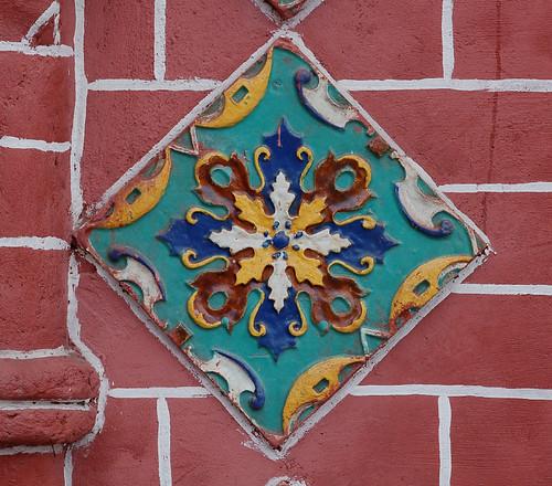 Деталь церкви Богоявления в Ярославле