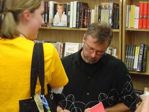 Christopher Moore signing