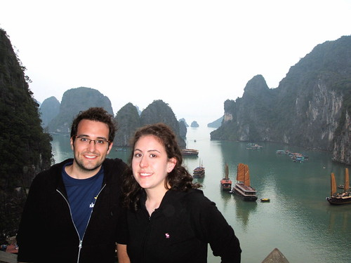 Amber and I at Halong Bay