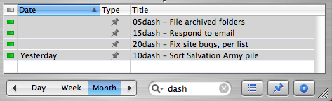 dash-able tasks