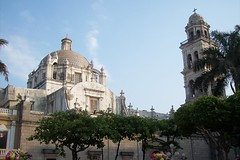 The cathedral downtown veracruz