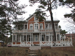 Wooden House in Hanko, Finland