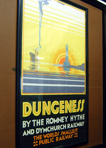 Romney, Hythe & Dymchurch Railway poster - Dungeness