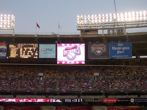 July 23, 2005 Nationals Game: Fourth Inning.