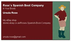 Rose's Spanish Boot Company Torrox Times ad