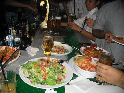 Calamari Caesar Salad