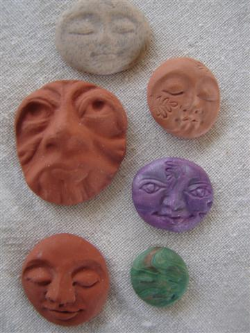 face groupings terracotta greenman