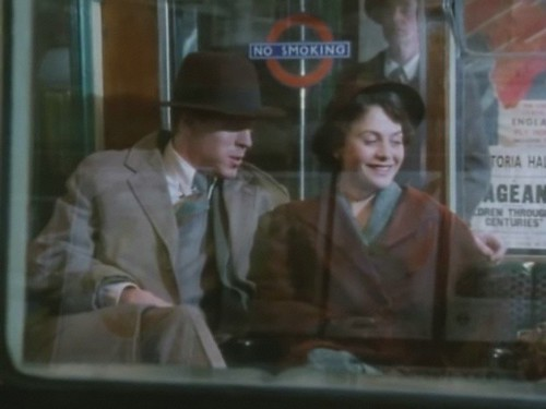 Damien Lewis on 1930's Tube Stock in Poirot