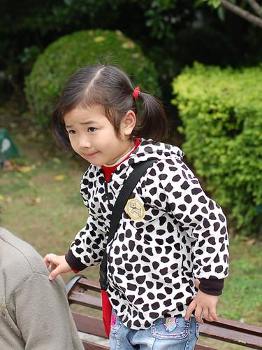 可爱的中国小孩