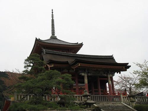Kyoto - Hram u brdu
