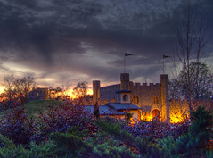 Sunset at the Castle San Miguel [HDR] photo by earthsound