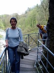 Jess at Gorges du Fier