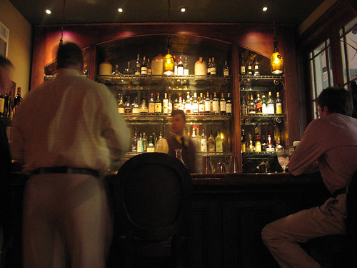 The bar at Restaurant Cuvée