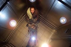 Airport elevator