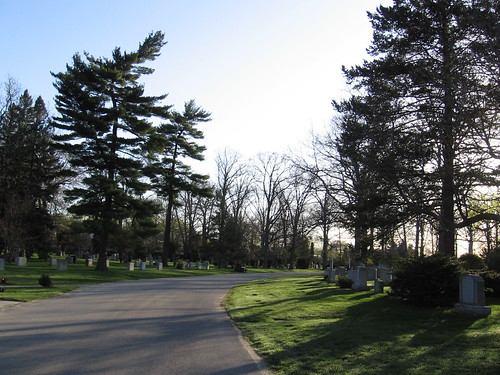 Early Saturday morning training run, Mount Pleasant Cemetery, Toronto