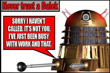 never trust a dalek 8