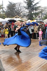Dancing despite the rain photo by Julie70