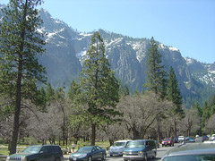 Yosemite - Snowy Mountains