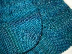 Sixth Sense Garter Stitch Heels