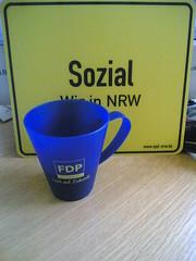 Bürotasse 2: Die FDP-Tasse