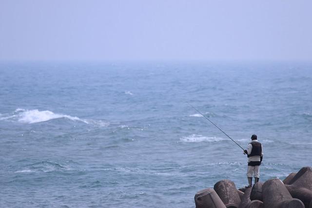 いわきの釣り人