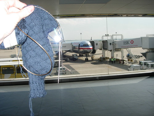 Gentlemen's sock in Charles de Gaulle
