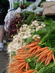 root veggies at Hollywood Farmers Market