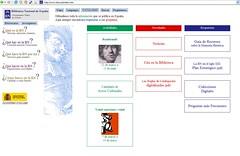 Nueva Web de la Biblioteca Nacional