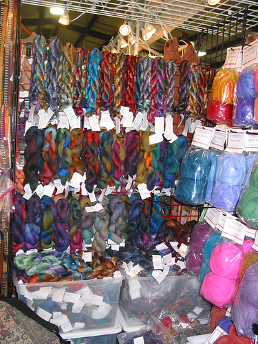 Chasing Rainbow Dyeworks at Carolina Homespun